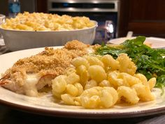 Chicken Cordon Blue, Arugula Salad, Macaroni And Cheese, Cooking, Ethnic Recipes, Food, Kitchen, Mac And Cheese, Kochen