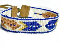 Feather Bracelet - Seed Bead Bracelet - Indian bracelet - Beaded Bracelet - Adjustable Bracelet - Gifts For Her - Under 30 Tribal Bracelets, Bead Loom Bracelets, Bohemian Bracelets, Woven Bracelets, Bohemian Style Jewelry, Boho, Adjustable Bracelet, Organza Bags, Loom Beading
