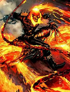 Marvel - Knowing your Ghost Rider: The Differences of Johnny Blaze & Robbie Reyes - The Comic Book Fan Club Marvel Comic Character, Comic Book Characters, Comic Book Heroes, Marvel Characters, Comic Books, Comic Art, Arte Dc Comics, Marvel Comics Art, Marvel Heroes