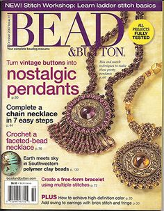 081 Bead & Button Magazine, 2007 October, #81 (Used) at Sova-Enterprises.com