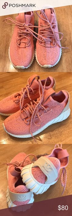 b71320dfd5f22 Adidas tubular doom New w tags! Pink adidas tubular doom sock sneakers. Size  4.5