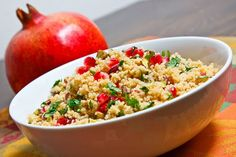 pomegranate and pistachio couscous pomegranate and pistachio couscous ...