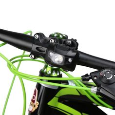 LED Bicycle Light MTB Bike Front Rear Light ABS Head Tail Taillight Wa