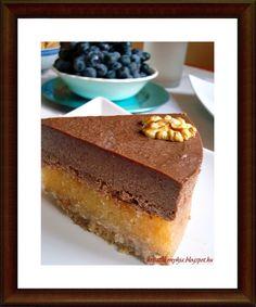 Sokadikiksz szülinapomra készítettem ezt a tortát:) Saját elképzelésem alapján alkottam meg. Sütés nélküli,nyers-vega és paleo torta. Nagyon...
