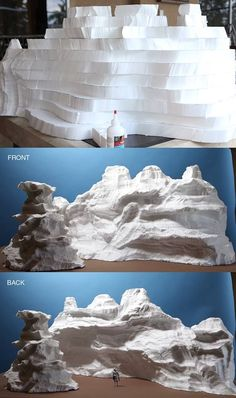 """Ever wonder how masterful mini mountains come to life? Stephen Hayford breaks it down into easy steps for this """"top secret"""" project. Wonder what it could be for?"""