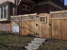 Design and hardware are what make a wooden gate operate well for decades. The key is understanding a few basics about gate building and you can build any design gate you want. Building A Wooden Gate, Wooden Garden Gate, Building A Fence, Wooden Gates, Wooden Fence, Tor Design, Gate Design, Backyard Gates, Backyard Landscaping
