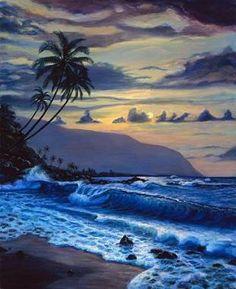 Hawaiian artists   Hawaiian Pipeline, Hawaiian Art, Hawaiian-Pipeline.com>