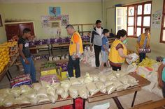 Blida La Source #LionsClub (Algeria) provided food to 140 families