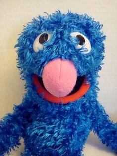 2008 Grover Full Body Puppet Plush Fisher Price Sesame Street #FisherPrice