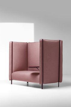 PINCH Divano con schienale alto Collezione Pinch by La Cividina design Skrivo