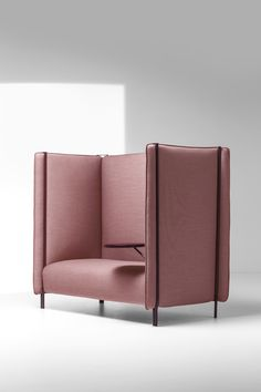 High-back fabric sofa PINCH - La Cividina