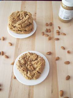 Flourless Almond Butter Cookies | Pies and Plots