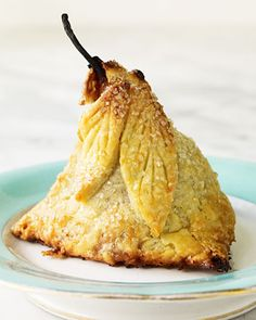 Pear Dumplings, now pour Pear liquor over this and serve it with a scoop of extra creamy - French vanilla ice cream