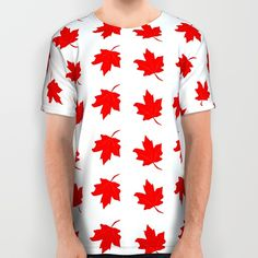 #Red #Maple #Leaf #Shirt