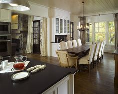Luxury Dining Sets Design, Pictures, Remodel, Decor and Ideas - page 15 - My head chairs will probably be lower as well.