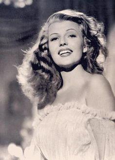 Rita Hayworth in a p