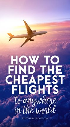 I'm taking between 40-50 flights every year and I was always wondering how to find cheap flights and tested several flight comparison sites. After experimenting with different websites I'm pretty sure that I have finally found the best flight search engine on the Internet...
