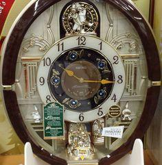 Seiko Musical Wall Clock 12 Melody Special Collectors Edition