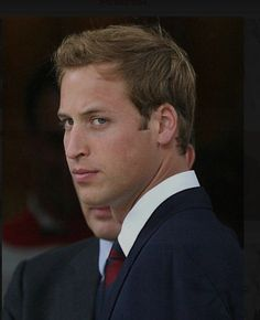Prince William - a little photoshop magic removed the gentleman in the background