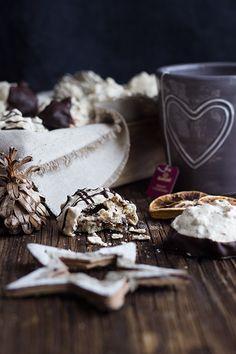 Los geht die Weihnachtsbäckerei: Schoko-Walnuss-Makronen