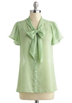 Jonquil You Be Mine? Top in Mint, #ModCloth (very, very loose fit...go a size down)