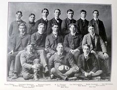 1900 Charlotte High School football team