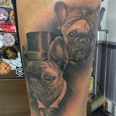 Frenchie tattoo!