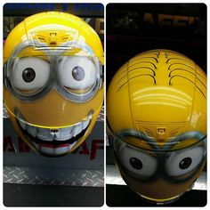 Custom Airbrushed Motorcycle Helmets by Airgraffix - My top 100 Fav's