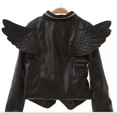 LIL FASHIONISTA WINGED MOTORCYCLE JACKET from Liz Boutique on Storenvy  ________________ Perfect for Gracie!!! <3