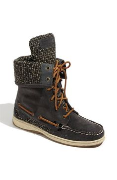 Sperry boots. I WANT THESE.