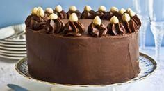 Čokoládovo-oriešková torta | Recepty.sk