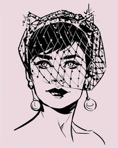 Selina Kyle wedding dress designs by Joëlle Jones (x)