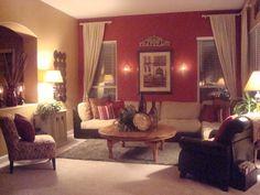 Tuscan Living Room Decorating Ideas | Room Contemporary Tuscan - Living Room Designs - Decorating Ideas ...