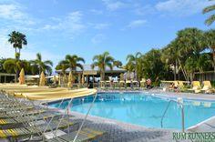 Rum Runners poolside  #pool #beach #fun #florida #sun #warm #weather #palmtrees #water #green #yellow #vacation #family #bar #beachbar