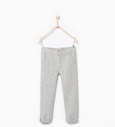 Chinos-Trousers-Boy (3-14 years)-KIDS   ZARA United States