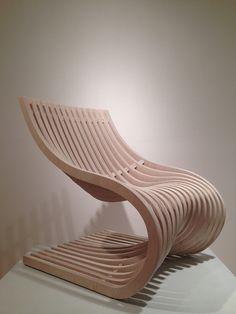 Double Section Chair_8 By Piegatto. Sperrholz MöbelStuhl DesignMöbeldesignCncIndustrielles  ...
