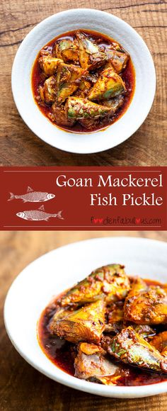 Recipe Goan Mackerel Fish Pickle