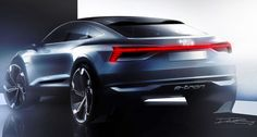 The Audi Sportback e-tron Concept has been teased ahead of its official debut at the 2017 Shanghai auto show.