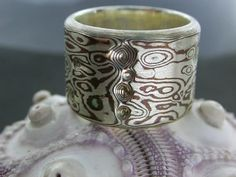 mokume ring, great texture
