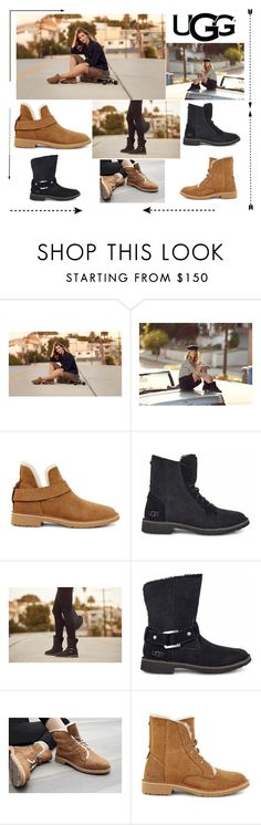 """""""The New Classics With UGG: Contest Entry"""" by belen-lillo on Polyvore featuring moda, UGG y ugg"""