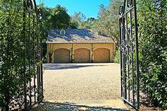 Montecito - mediterranean - garage and shed - santa barbara - J. Grant Design Studio