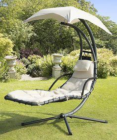 Look at this #zulilyfind! Beige Helicopter Swing Chair by Trans-Continental Group #zulilyfinds @jordan