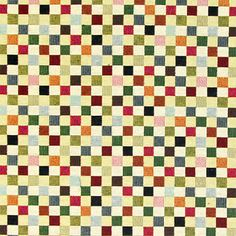 Gobelin Little Checks 1 - Baumwolle - Polyester - Polyacryl - Farbmix