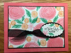 """Stampin Up """"Swirly Bird"""" stamp set.  Inspired (CASE'd) from Jo Anne Hewins To order this stamp set: http://www.stampinup.com/ECWeb/ProductDetails.aspx?productID=142353&dbwsdemoid=2158591"""