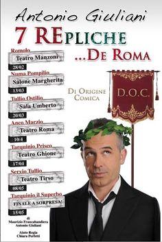 7 RE-PLICHE DI ROMA PER ANTONIO GIULIANI