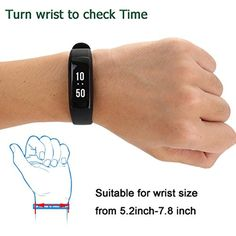 Ansbo Smart Wristband Smart Bracelet Bluetooth Band With Fitness Tracker With Heart Rate Pedometer Calorie Step Distance Sleep Monitor Call Message Remind For Android and IOS Smartphone -- You can get additional details at the image link. (This is an affiliate link) #ClipsArmWristbands