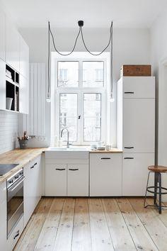 Edinburgh Victorian tenement flat refurbishment - original wooden ...