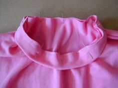 You can use this simple finish on all of your knit tops. It's easier than you think and quick, too.