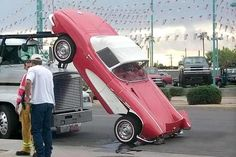 Ouch!/LET ME THINK,DID I PUT THE BINDERS ON THAT VETTE/IDIOT  :)
