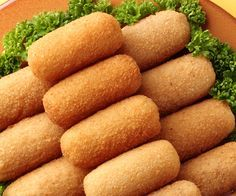 Cook croquettes with ham - Gourmand: the recipe for cooking, easy and fast, by Vie Pratique Source by bienbien Easy To Digest Foods, Vegetarian Recipes, Cooking Recipes, Food Porn, Salty Foods, Snacks, Super Mario, Finger Foods, Food Inspiration